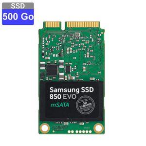 DISQUE DUR SSD SAMSUNG - Disque SSD Interne - 850 EVO mSATA - 500