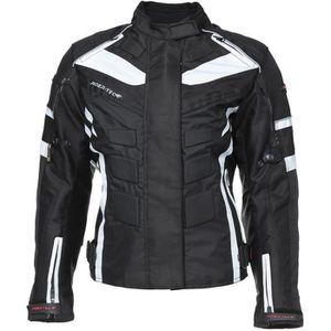 BLOUSON - VESTE RIDER-TEC Blouson moto femme, homologué CE, Noir &