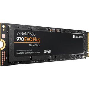 DISQUE DUR SSD SAMSUNG - SSD Interne - 970 EVO PLUS - 500Go - M.2