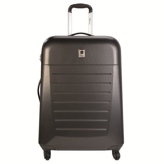 selection delsey valise trolley 4 roues 66 cm caleo hard tsa noir anthracite achat vente. Black Bedroom Furniture Sets. Home Design Ideas