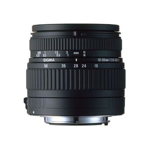 OBJECTIF SIGMA zoom 18-50mm F3,5-5,6 DC pour Canon
