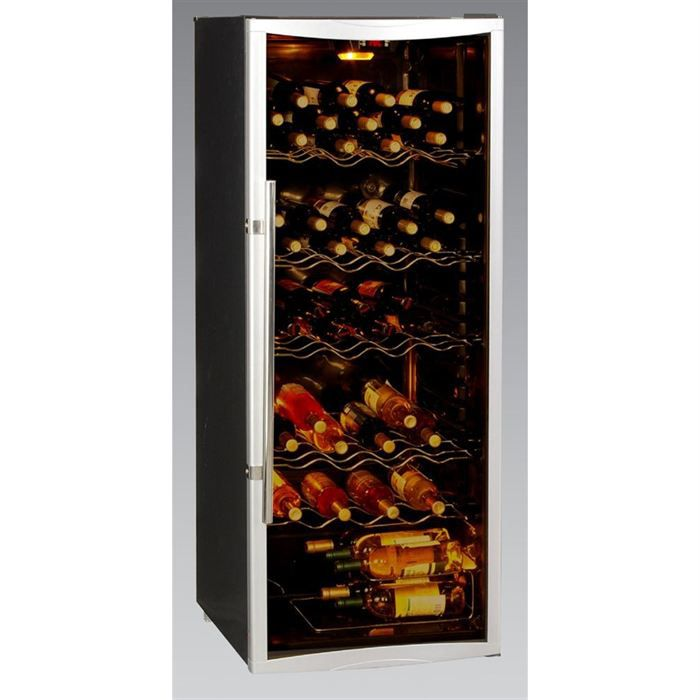 bottle box wbs270cd cave vin 120 bouteilles achat. Black Bedroom Furniture Sets. Home Design Ideas