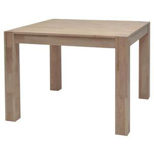 TABLE À MANGER SEULE MILES Table à manger carrée de 2 à 4 personnes sca