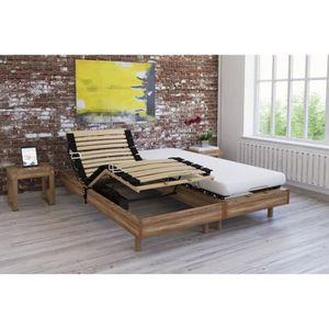 ENSEMBLE LITERIE Ensemble relaxation matelas + sommiers électriques