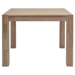 Table carree chene achat vente table carree chene pas for Table a manger carree