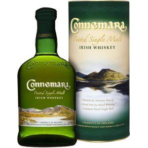 WHISKY BOURBON SCOTCH Whiskey Connemara - Single malt Whiskey - Irlande