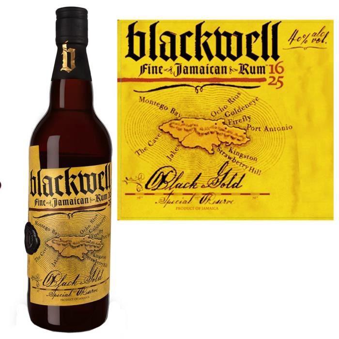 RHUM Blackwell rhum 70cl 40°