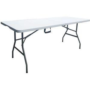 TABLE DE JARDIN  Table de reception pliante - 8 personnes - L.180 x