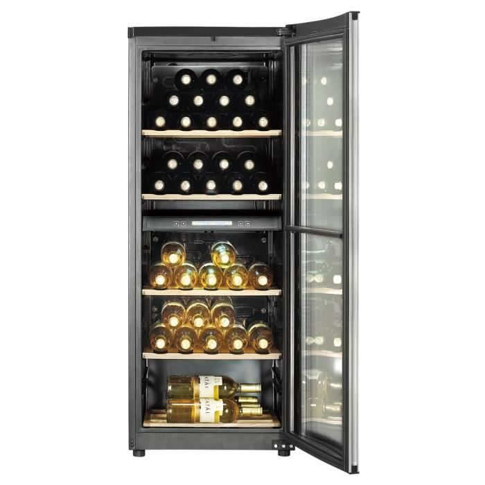 haier jc150de cave vin multi temp ratures achat. Black Bedroom Furniture Sets. Home Design Ideas