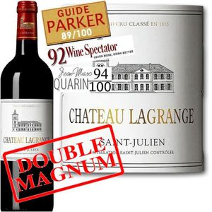 VIN ROUGE Double Magnum Cht Lagrange 3° GCC St Julien 2010