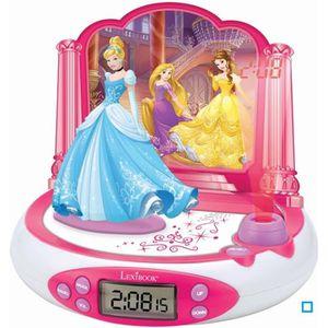 RÉVEIL ENFANT LEXIBOOK - Disney Princesses Cendrillon - Radio Ré