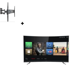 Téléviseur LED THOMSON 55UZ6096 TV LED UHD 4K + MELICONI Curved 4