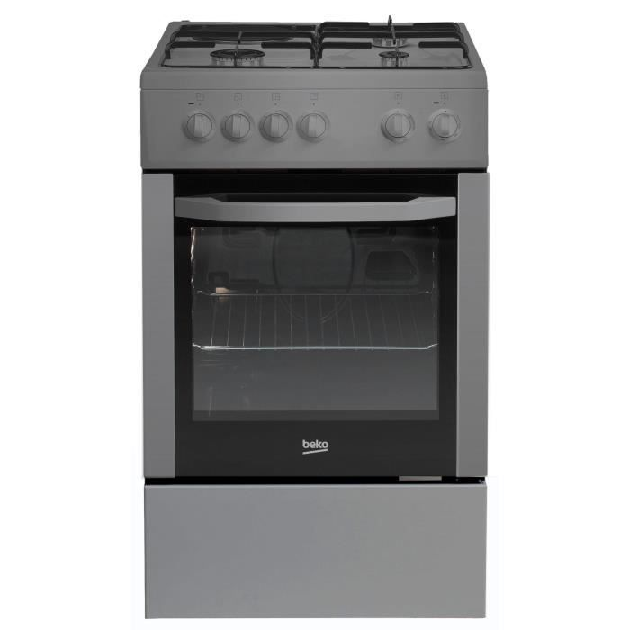 beko css53000ds cuisini re table mixte gaz lectrique 4 foyers 2 9kw four lectrique 60l a. Black Bedroom Furniture Sets. Home Design Ideas