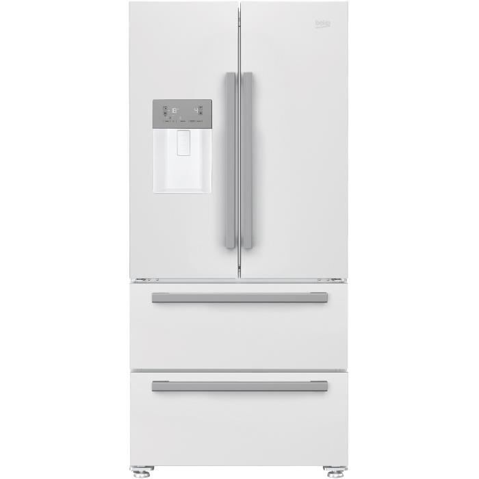 RÉFRIGÉRATEUR CLASSIQUE BEKO GNE530DW - Réfrigérateur multiportes- 530 L (