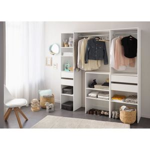 AMENAGEMENT DRESSING EASY DRESS Dressing - Contemporain - Décor blanc -