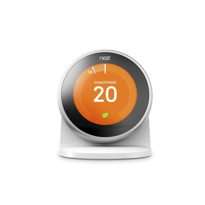 nest socle pour nest learning thermostat connect troisi me g n ration achat vente. Black Bedroom Furniture Sets. Home Design Ideas