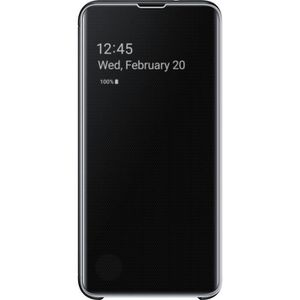 HOUSSE - ÉTUI Samsung Clear View cover S10e - Noir