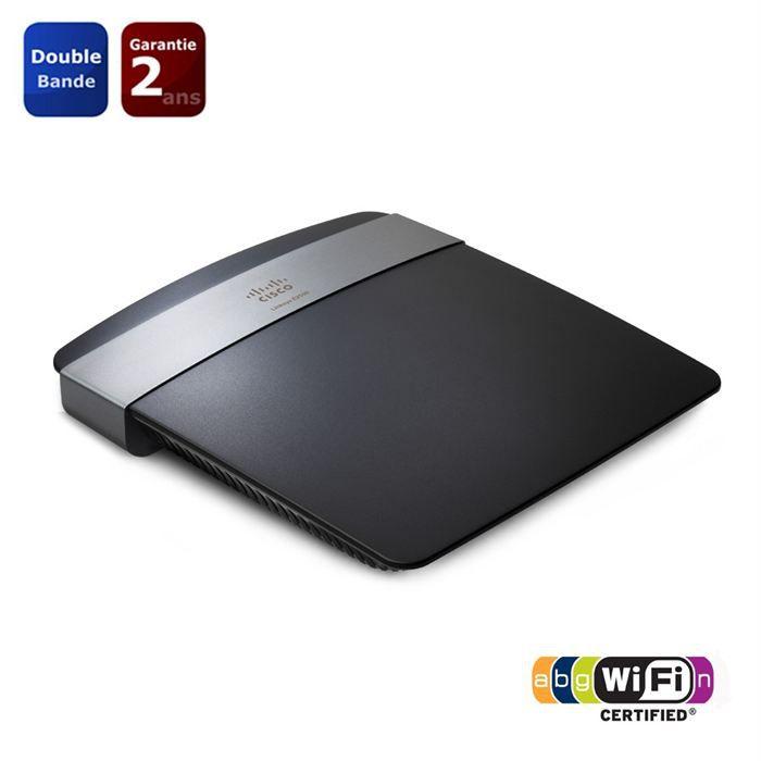 MODEM - ROUTEUR LINKSYS E2500 Routeur WiFi N600 double bande avec