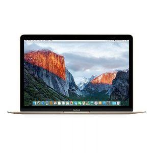 "Vente PC Portable Apple MacBook 12"" Reconditionné - Core M5 1.3 - RAM 8GB - Stockage 512Go SSD - Intel HD Graphics 5300 - Or - 2015 pas cher"
