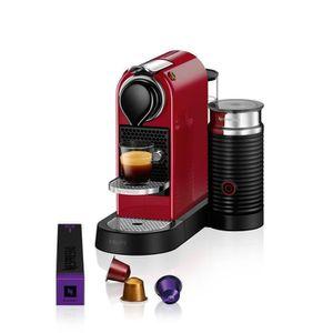 MACHINE À CAFÉ KRUPS NESPRESSO Citiz & Milk YY2730FD - Rouge