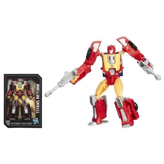 FIGURINE - PERSONNAGE TRANSFORMERS Generations - FIREDRIVE et AUTOBOT HO