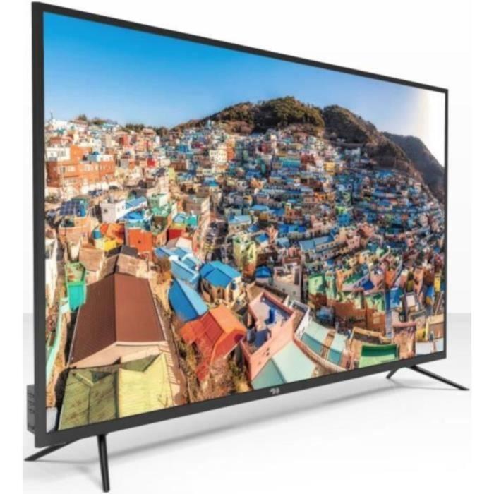 Téléviseur LED CONTINENTAL EDISON TV  55' (139cm) 4K UHD + MELICO
