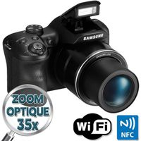 SAMSUNG WB1100F Bridge Noir - CCD 16MP Zoom 35x