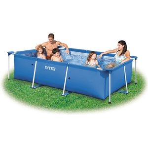 PISCINE Piscinette Metal Frame INTEX tubulaire 2,3 m³