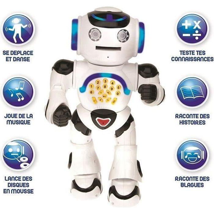 ROBOT - ANIMAL ANIMÉ LEXIBOOK - POWERMAN® - Robot Éducatif Interactif -