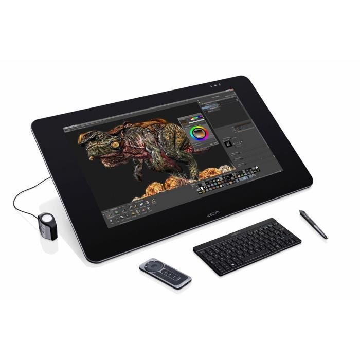 informatique clavier souris webcam wacom cintiq qhd pen touch f  wacdthfr