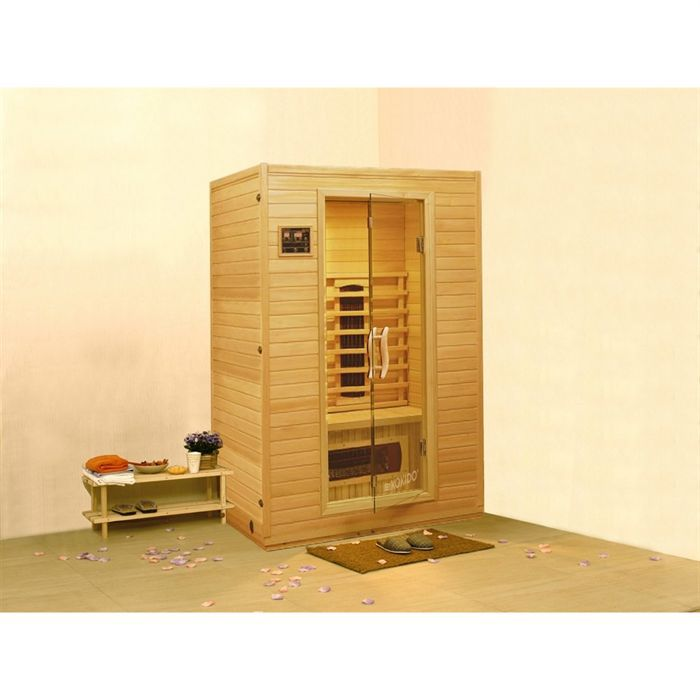 kokido sauna infrarouge 2 places helsinki achat. Black Bedroom Furniture Sets. Home Design Ideas