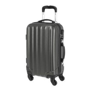 VALISE - BAGAGE Valise en ABS Gris Foncé 4 Roues 50x35x20 cm