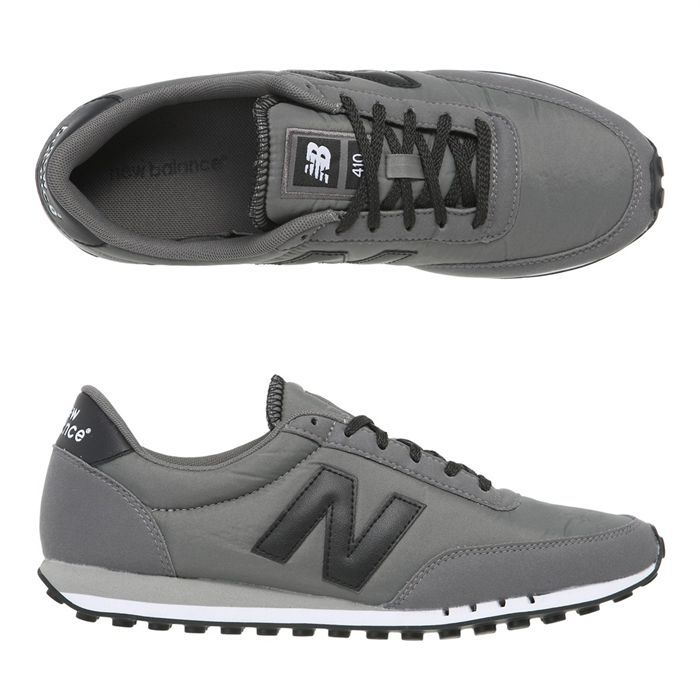 new balance baskets 410 homme homme gris et noir achat. Black Bedroom Furniture Sets. Home Design Ideas