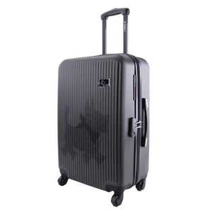 VALISE - BAGAGE CHIPIE Valise Trolley ABS 4 Roues SRX 60 cm Gris f