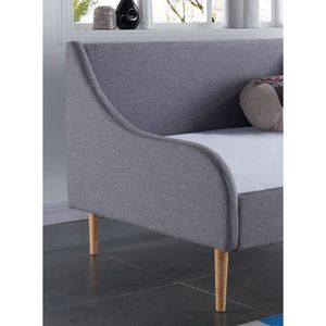 lit banquette 90x190 achat vente lit banquette 90x190 pas cher cdiscount. Black Bedroom Furniture Sets. Home Design Ideas
