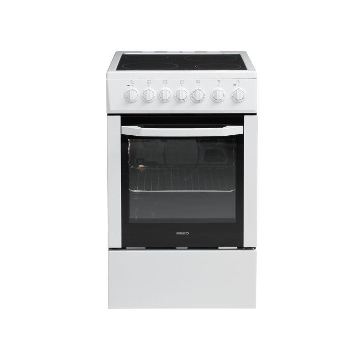 beko css57100gw cuisini re 50x60 achat vente cuisini re piano cdiscount. Black Bedroom Furniture Sets. Home Design Ideas