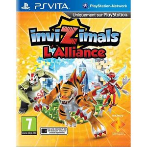 JEU PS VITA INVIZIMAL : THE ALLIANCE / Jeu console PS Vita