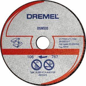 ACCESSOIRE MACHINE DREMEL s510 3 disques métal/plastique DSM510 pour