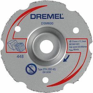 ACCESSOIRE MACHINE DREMEL Disque de découpe à ras DSM600 pour DSM20
