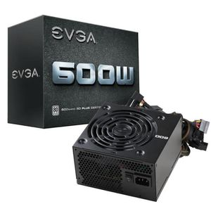 ALIMENTATION INTERNE EVGA Alimentation PC 600W - 80PLUS White (100-W1-0