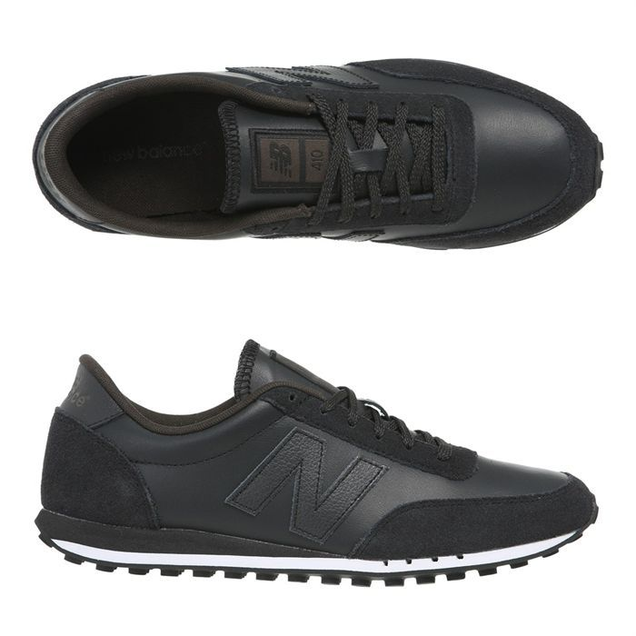 new balance cuir noire homme