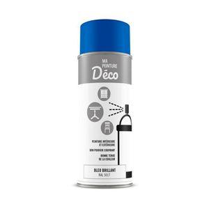PEINTURE - VERNIS Peinture aérosol déco - 0,4 L - Bleu brillant