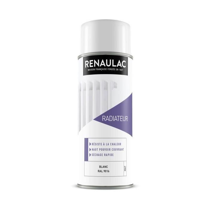 PEINTURE - VERNIS RENAULAC Peinture aérosol spéciale radiateur - 0,4