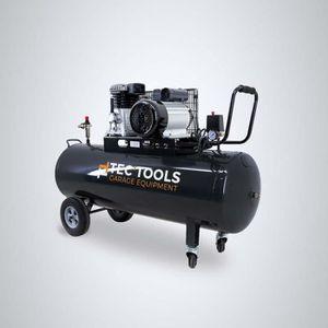 COMPRESSEUR TEC'TOOLS Compresseur horizontal bicylindre - 200