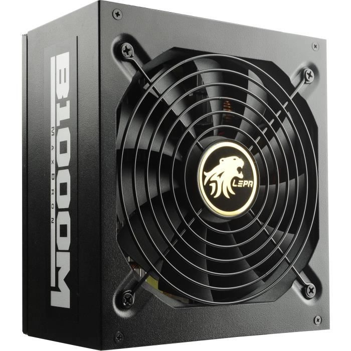 ALIMENTATION INTERNE Lepa Alimentation PC MaxBron 1000W - 80PLUS Bronze