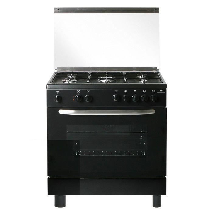 continental edison cecp8050mb cuisini re table gaz 5. Black Bedroom Furniture Sets. Home Design Ideas