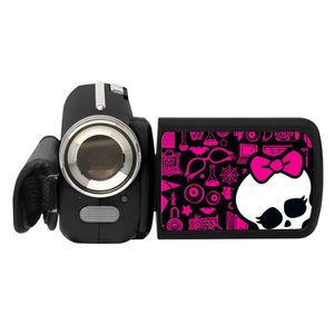 CAMÉSCOPE ENFANT MONSTER HIGH Camescope Enfant 12 MP Lexibook