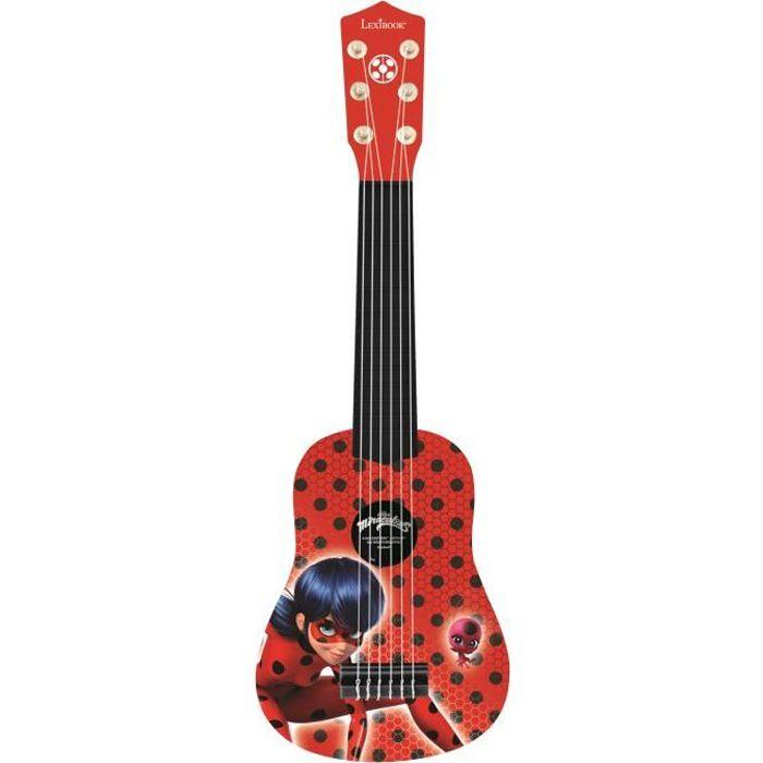 INSTRUMENT DE MUSIQUE LEXIBOOK - Ma Première Guitare Miraculous