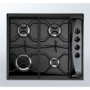 PLAQUE GAZ WHIRLPOOL AKM260 Noir Table de cuisson gaz-4 foyer