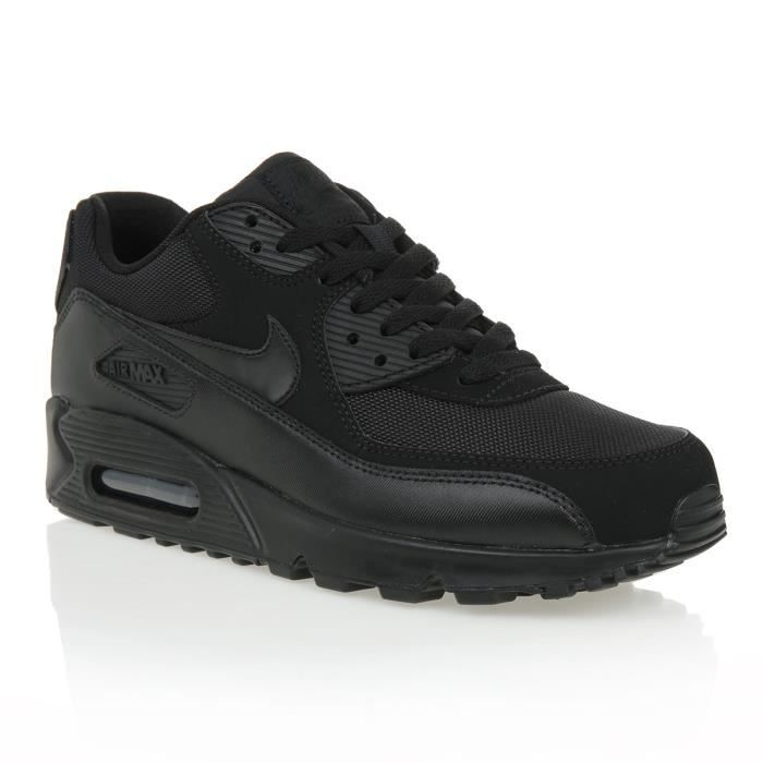new product e5050 fff10 NIKE Baskets Air Max 90 Essential - Homme - Noir